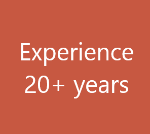 20+ years experience